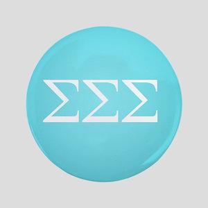 Sigma Sigma Sigma Greek Letters Button