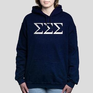 Sigma Sigma Sigma Greek Women's Hooded Sweatshirt