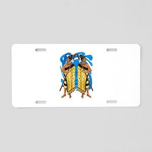 DEFENDERS Aluminum License Plate