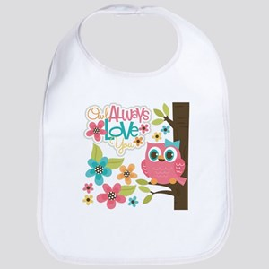 Owl Always Love You Baby Bib