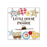 Little House On The Prairie Patches Square Sticker