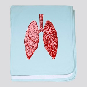 LUNGS baby blanket