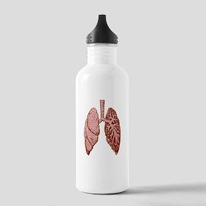 LUNGS Water Bottle