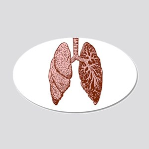 LUNGS Wall Decal
