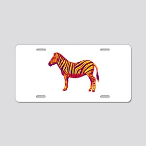 ZEBRA Aluminum License Plate
