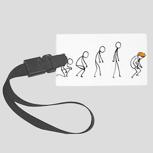 Evolution of Man - Trump Luggage Tag