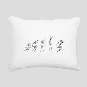Evolution of Man - Trump Rectangular Canvas Pillow