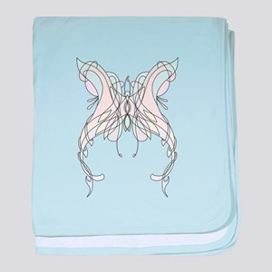 Butterfly Pin baby blanket