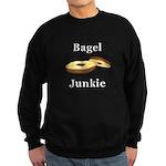 Bagel Junkie Sweatshirt (dark)