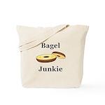 Bagel Junkie Tote Bag