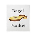 Bagel Junkie Throw Blanket