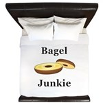 Bagel Junkie King Duvet