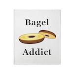Bagel Addict Throw Blanket