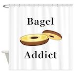 Bagel Addict Shower Curtain