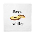 Bagel Addict Queen Duvet