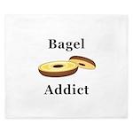 Bagel Addict King Duvet