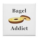 Bagel Addict Tile Coaster