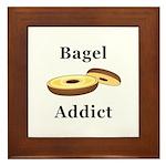 Bagel Addict Framed Tile