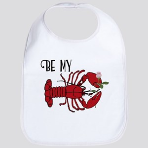 Be my Lobster Baby Bib