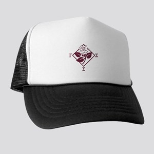 Gamma Sigma Sigma Badge Trucker Hat