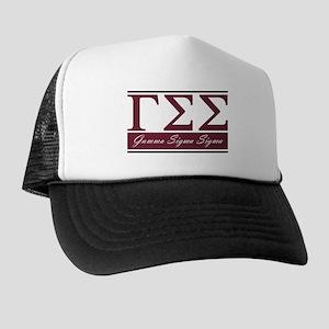 Gamma Sigma Sigma Letters Trucker Hat