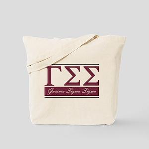Gamma Sigma Sigma Letters Tote Bag
