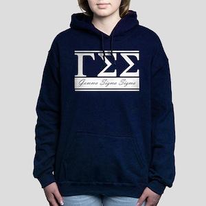 Gamma Sigma Sigma Letter Women's Hooded Sweatshirt