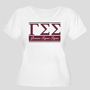Gamma Sigma S Women's Plus Size Scoop Neck T-Shirt