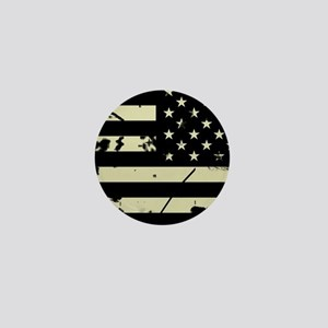 Weathered Reverse U.S. Flag (Sand) Mini Button