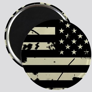 Weathered Reverse U.S. Flag (Sand) Magnets