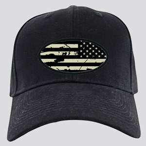 Weathered Reverse U.S. Flag (Sand) Baseball Hat