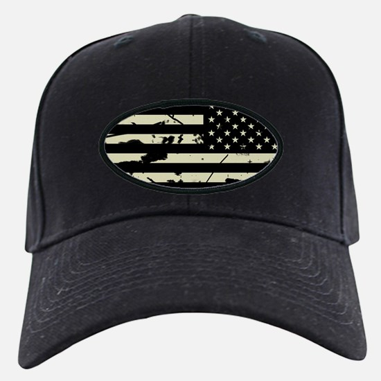 Weathered Reverse U.S. Flag (Sand) Baseball Hat