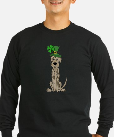 Irish Wolfhound St. Patrick&#3 Long Sleeve T-Shirt