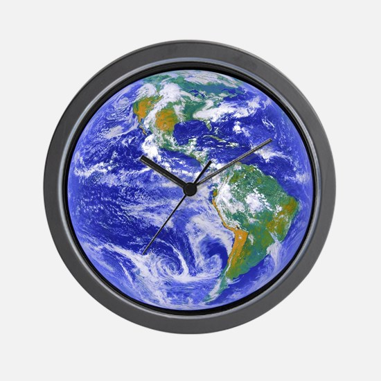 Our Home - The Earth Wall Clock