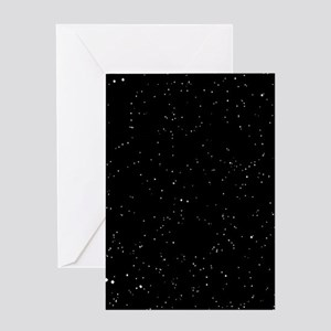 Space: Starfield Greeting Cards