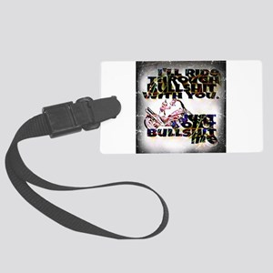 Ride with you Large Luggage Tag