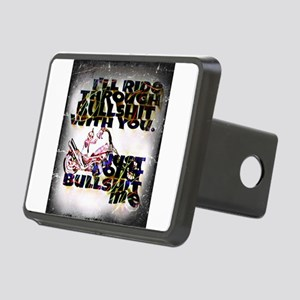 Ride with you Rectangular Hitch Cover