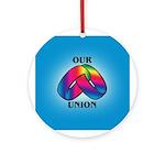 OUR UNION Keepsake (Round)