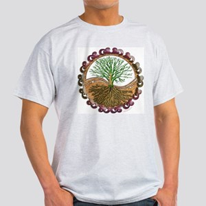 Celtic Tree of Life Ash Grey T-Shirt