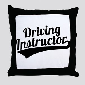 Driving instructor Throw Pillow