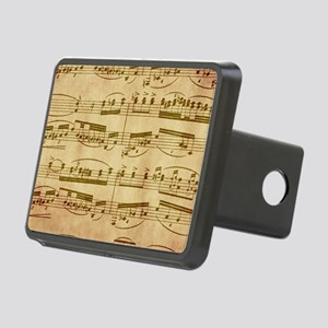 Vintage Sheet Music Hitch Cover