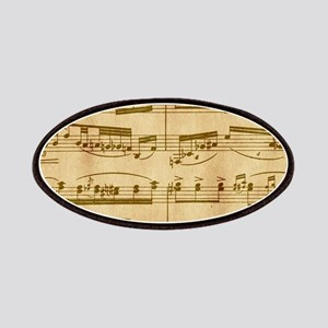 Vintage Sheet Music Patch