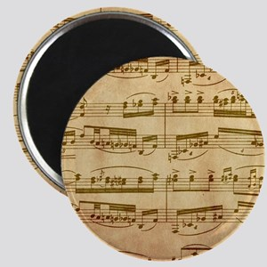 Vintage Sheet Music Magnets