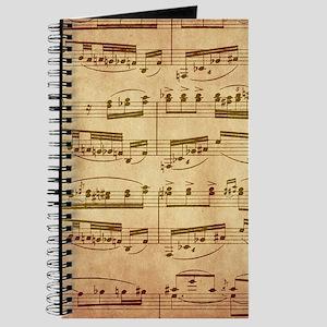 Vintage Sheet Music Journal