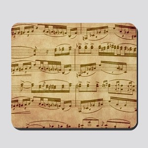 Vintage Sheet Music Mousepad