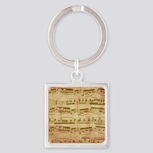 Vintage Sheet Music Keychains