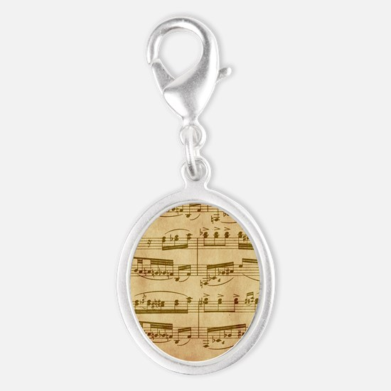 Vintage Sheet Music Charms