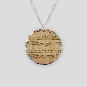 Vintage Sheet Music Necklace