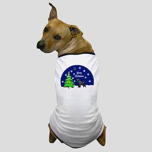 Schnauzer Merry Christmas Dog T-Shirt