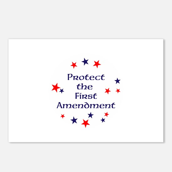 Protect the First Amendment Postcards (Package of